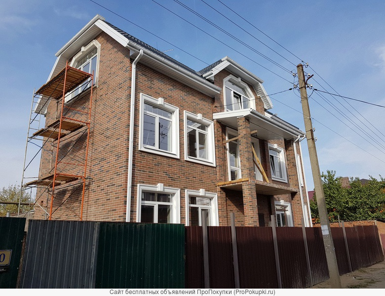 Новый дом в центре Краснодара