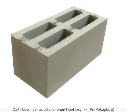 Блок стеновой СКЦ-1Р пескоцементный пустотелый