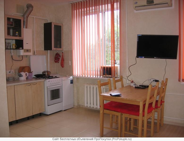 посуточно и по часам квартира в Краснодаре без посредников