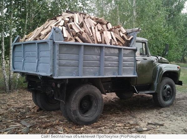 Доставляю дрова, чистый дуб, сухостой