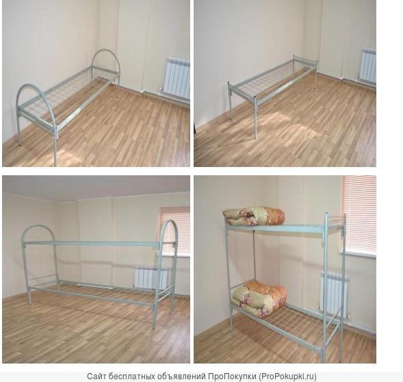Кровати для строителей, металлические, надежные