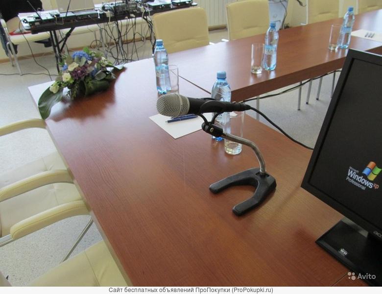 аренда в Томске: Настольная стойка для микрофона