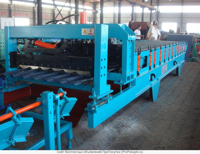 Низкая цена, оборудование для производства металлочерепицы