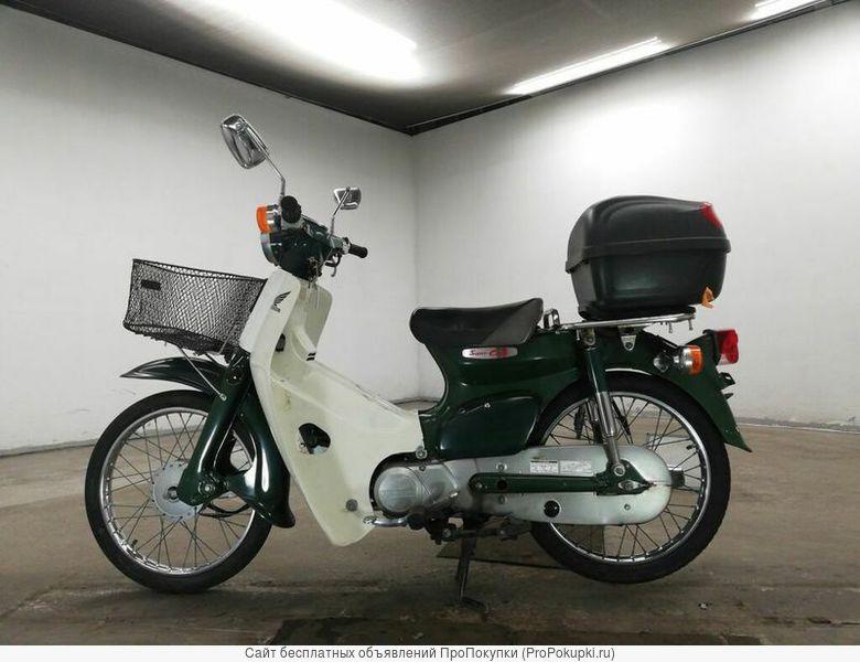 Мотоцикл дорожный Honda Super Cub рама AA01 скутерета корзина кофр