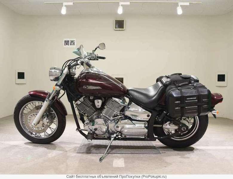 Мотоцикл круизер Yamaha Dragstar 1100 рама VP13J боковые мотокофры