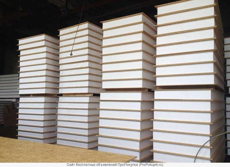 Производство и продажа SIP-панелей. Пиломатериал
