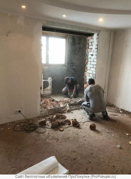 Демонтаж стен Воронеж и снос стены в Воронежской области