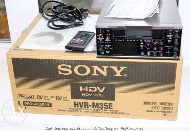 sony HVR-M35E