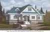 Двухэтажный дом из газобетона 10 на 16 м крестообразной формы
