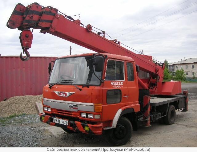 Аренда Автокрана 5 тонн, стрела 23 метра