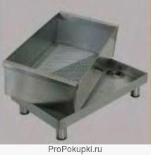 Бак с фильтром из нержавеющей стали для сбора отходов. Артикул: 2466