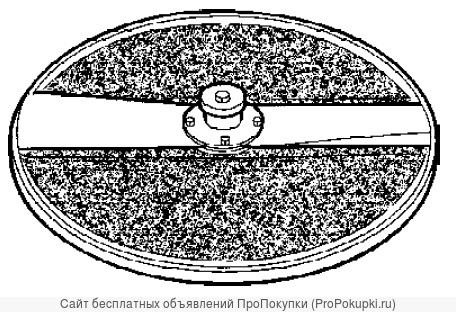 Абразивный диск для очистки чеснока и лука. Артикул: 2472