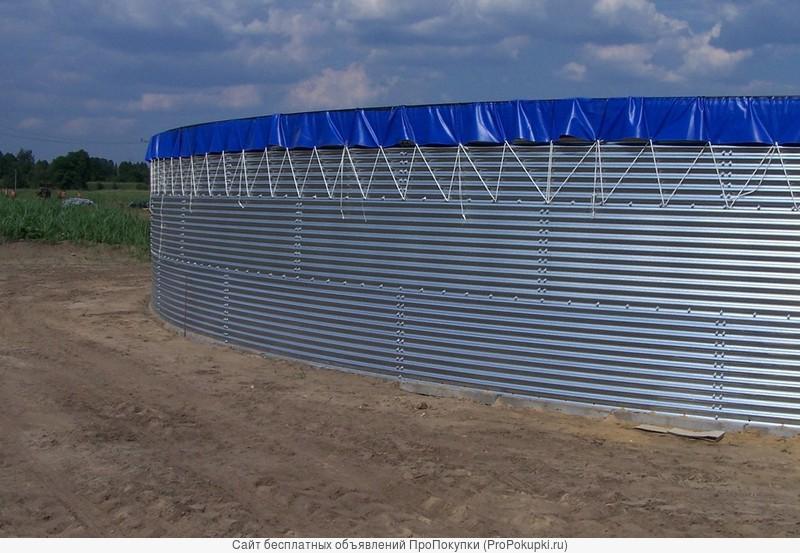 Резервуары для хранения воды и поливочных растворов
