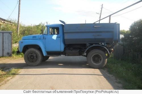 Вывоз мусора на Газеле и Камазе