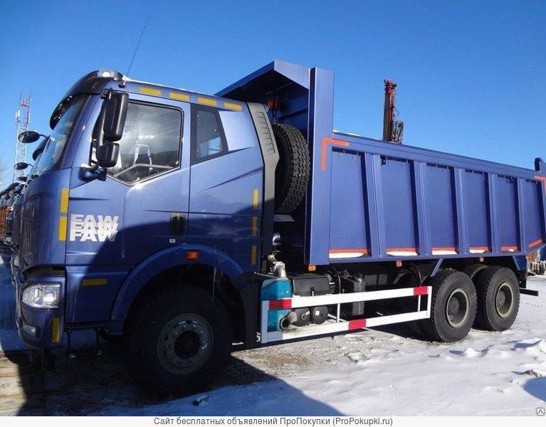 Самосвал FAW 6x4 кабина J6