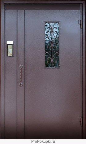 установка металлической двери с домофонов в ликино дулево