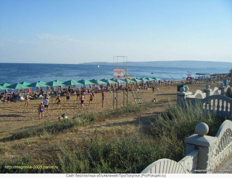 Номера в коттедже в 300м от пляжа. Феодосия Крым