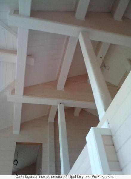Строительствои отделка деревянных домов