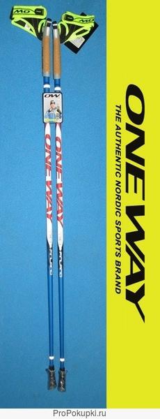 Палки для скандинавской ходьбы ONE WAY Team Finland