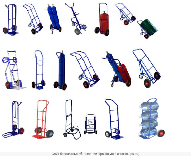 2-х колесные тележки, разных типов и видов
