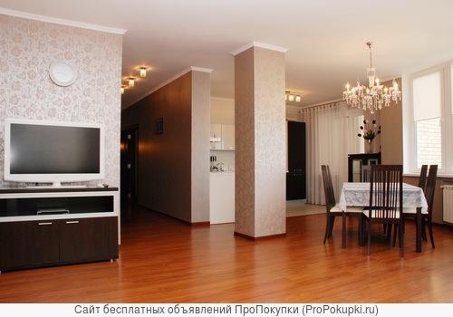2-комнатная квартира с еврореомнтом около пл.Горького