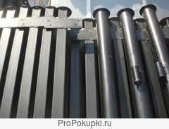 Cтолбы металлические для заборов