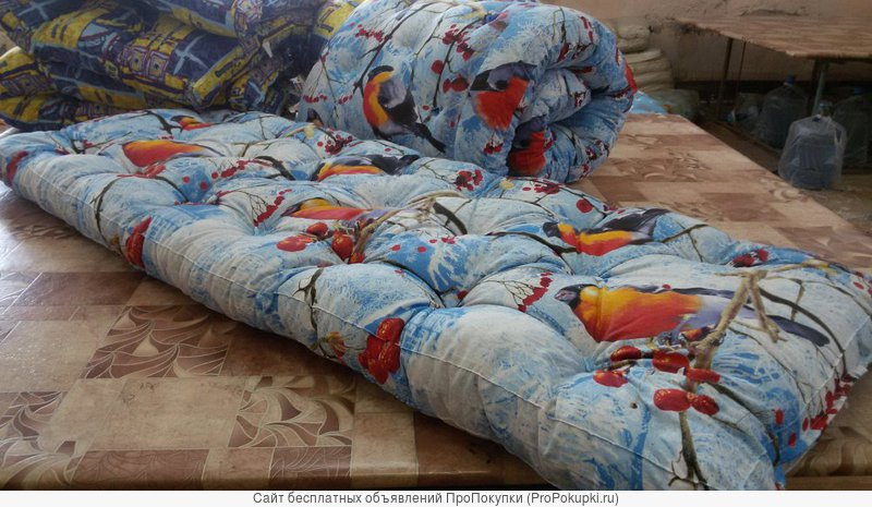 Ватные матрасы и спальные принадлежности оптом от производителя