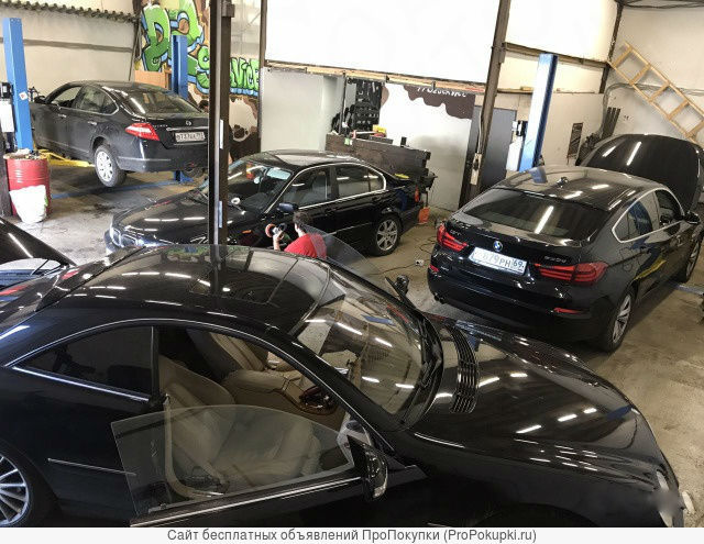 Продам автосервис BMW и Mercedes