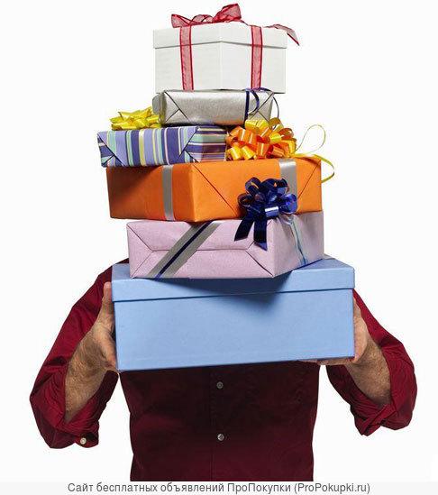 Курьер на доставку подарков