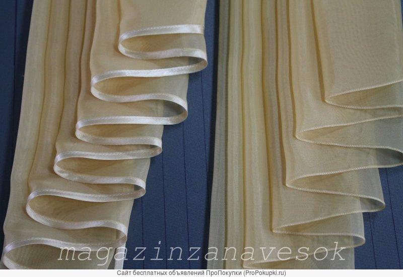 Подшив штор