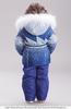 Билеми Зимний костюм для девочки 315300 синий