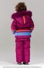 Bilemi Зимний костюм на девочку био-пух 316608 малиновый   молочный