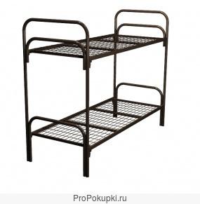 Кровати металлические для санатория, кровати для строительных времянок, кровати для хостелов