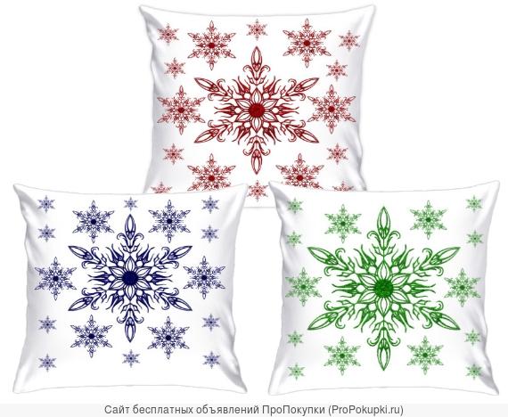 Декоративные подушки, размер 35*35 см