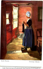 Девушка вяжет.1917 год.