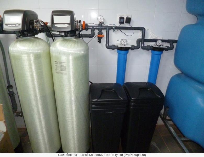 КНС, станции водоподготовки, водоочистки-промышленные, бытовые
