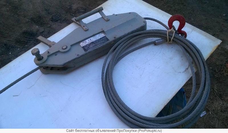 Аренда лебедки 3,2 тонны, помощь людьми