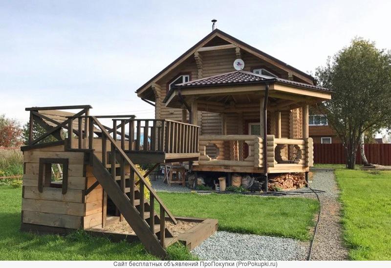 Строительство домов, бань, дач из дерева