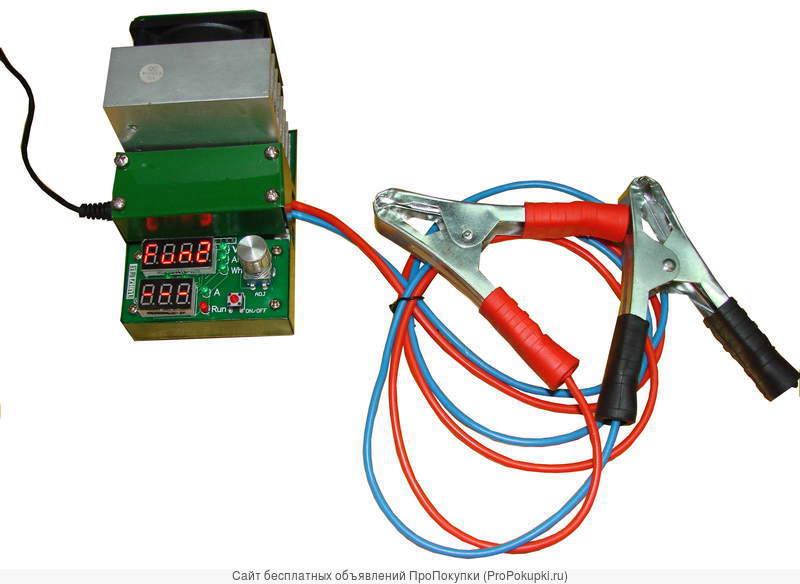 Прибор для измерения емкости аккумуляторов