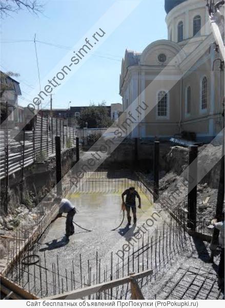 Пенетрон Адмикс - добавка для гидроизоляции всей толщи бетона