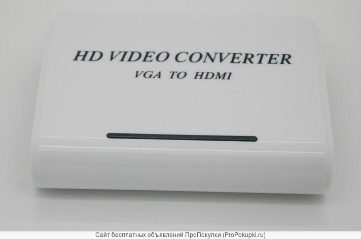 Аренда, прокат в Томске: Конвертер сигнала VGA с аудио в HDMI сигнал