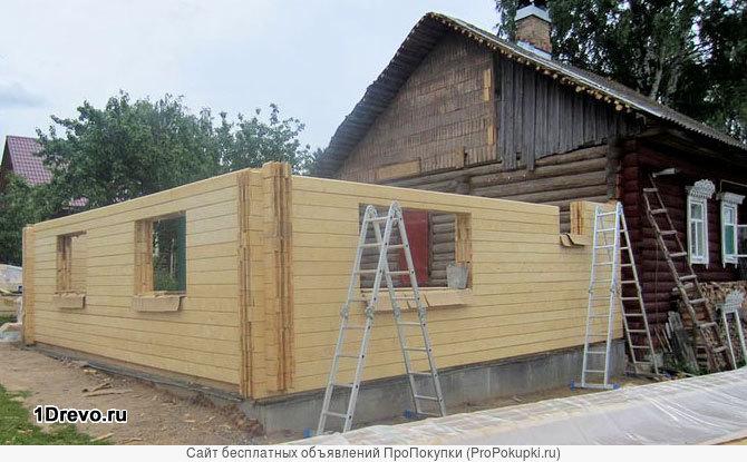 Строим пристройки к домам любой сложности-рассмотрим все варианты.