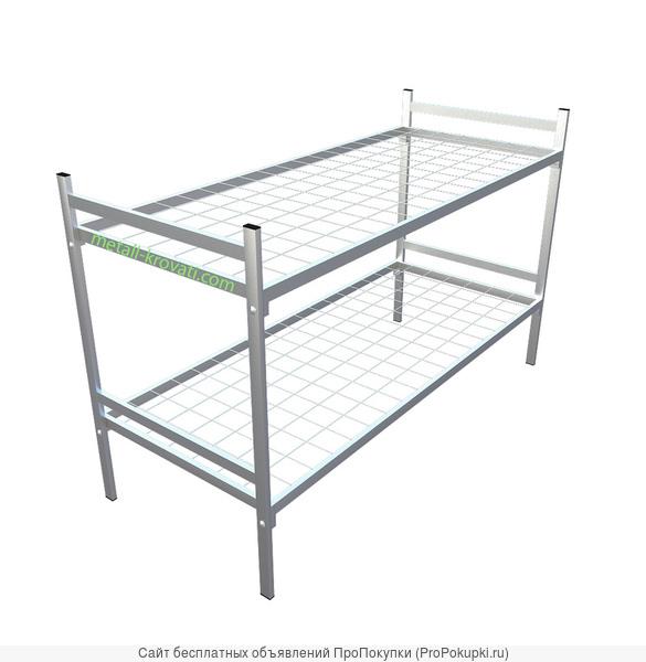 Кровати для больниц и хостелов металлические оптом