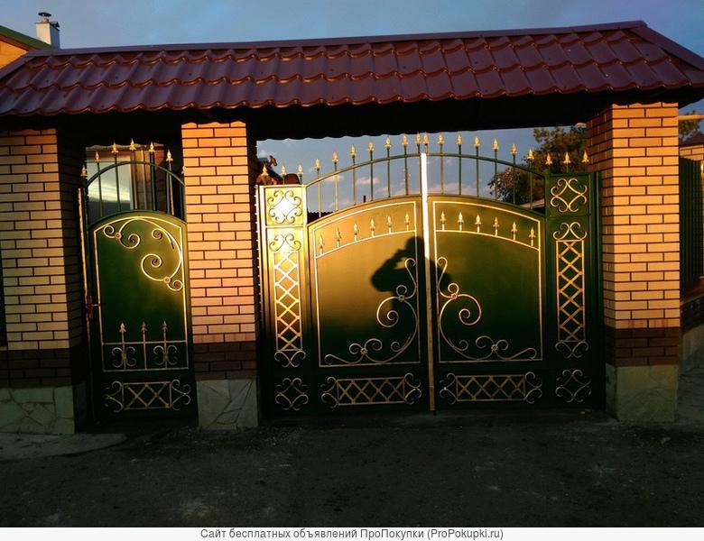Ворота, заборы, сварочные работы, сварка