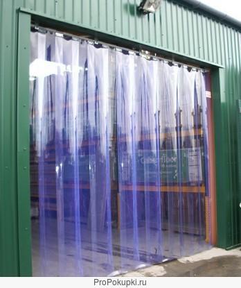 Полосовая пвх-завеса для склада