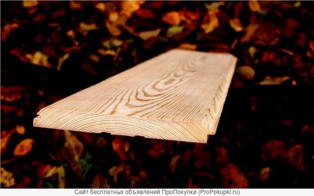 Имитация бруса лиственница 25х115 А(прима)