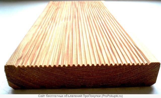 Террасная доска лиственница 27х140 АБ