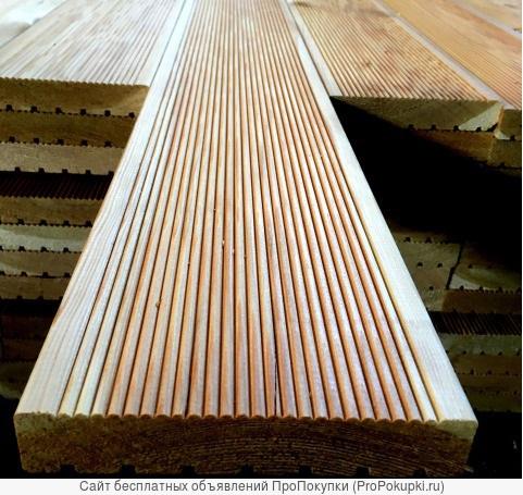 Террасная доска лиственница 20х140 А(прима)