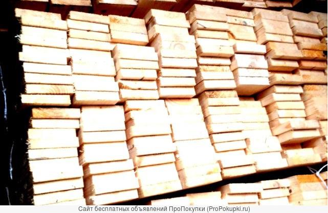 Строганная доска лиственница 35х135