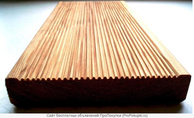 Террасная доска лиственница 29х145 Экстра
